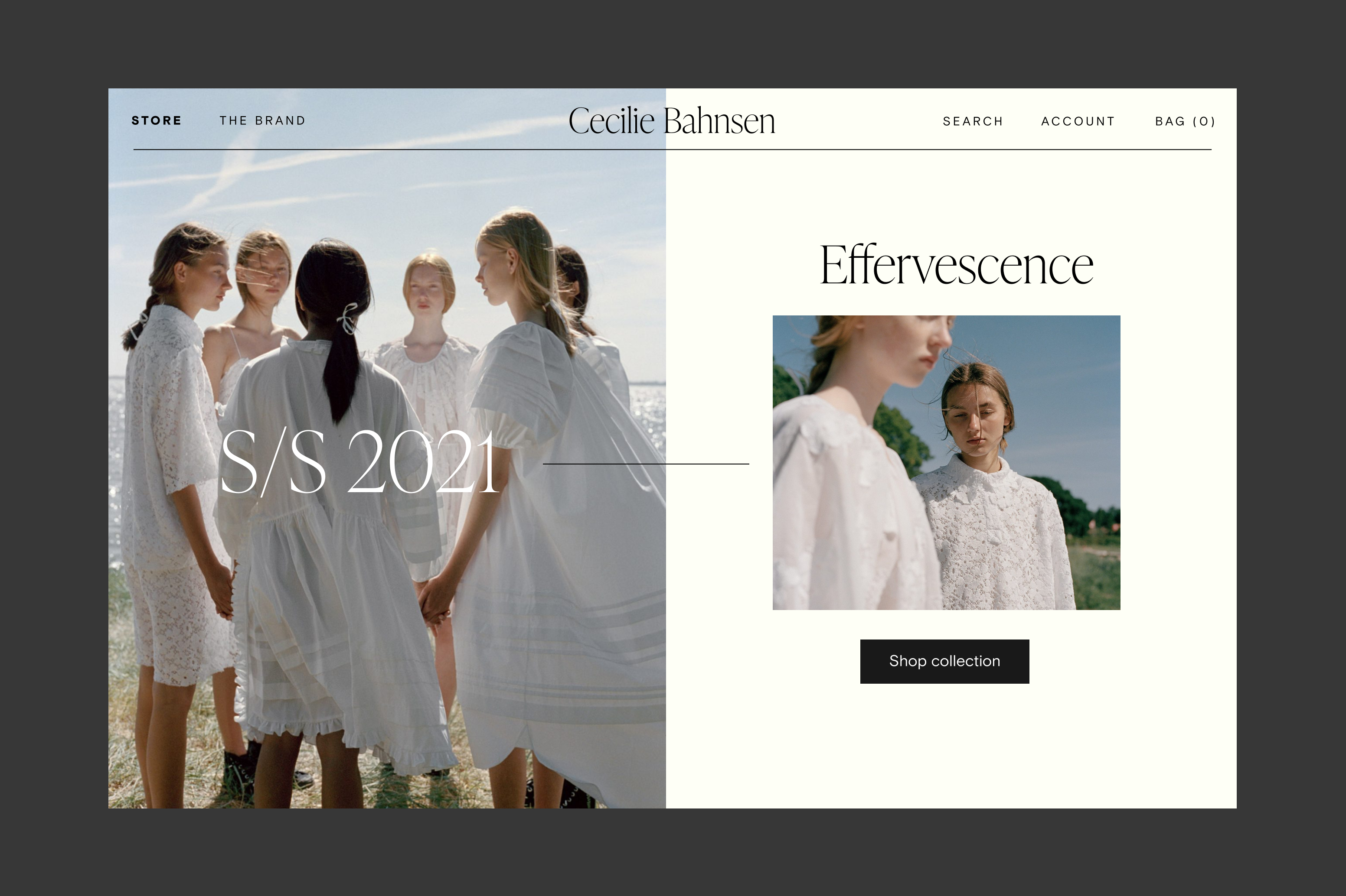 Cecilie Bahnsen e-commerce